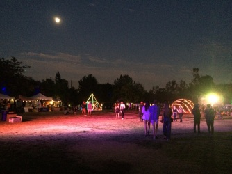Nighttime at Sunstock