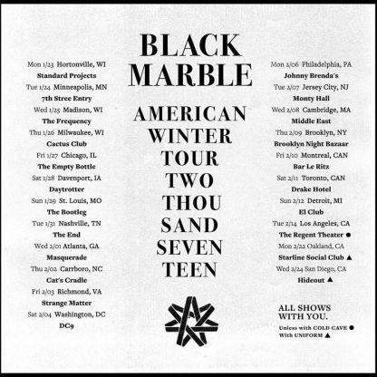 black-marble-winter-tour