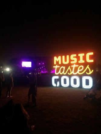 Music Tastes Good